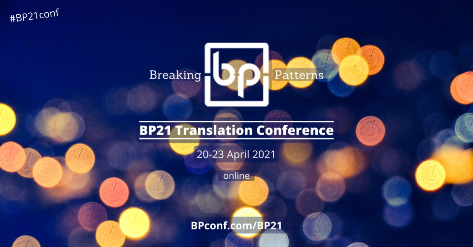 BP21 Translation Conference in English